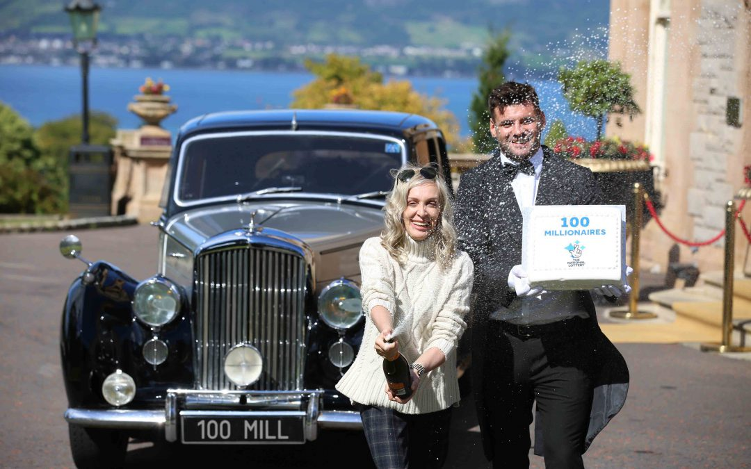 Northern Ireland celebrates 100 millionaire milestone
