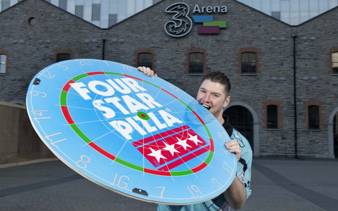 Four Star Pizza hit the bullseye with 'Superchin' sponsorship