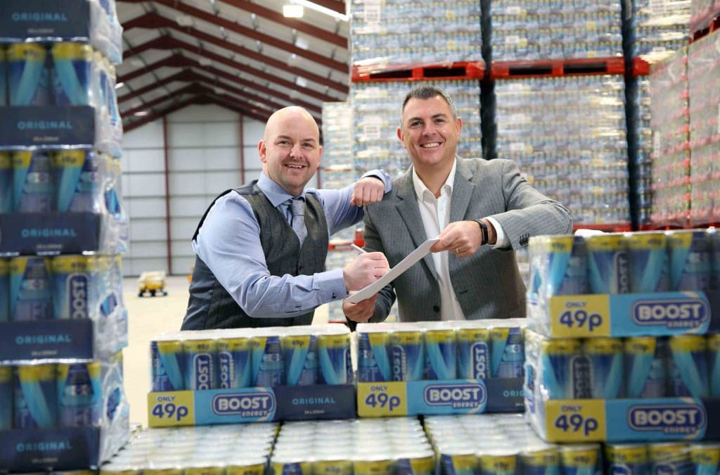 Antrim company signs NI distribution deal with soft drink giant Boost