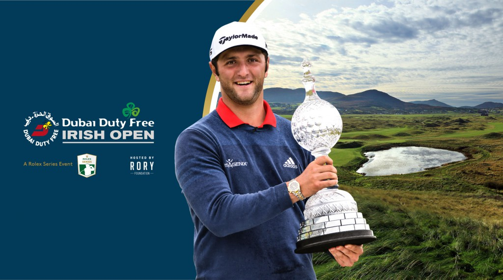 Jon Rahm DDFIO announcement - artwork