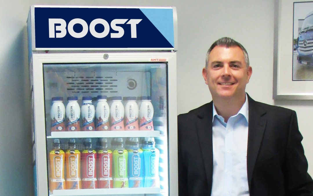 Boost urges NI retailers to chill out with new product launch
