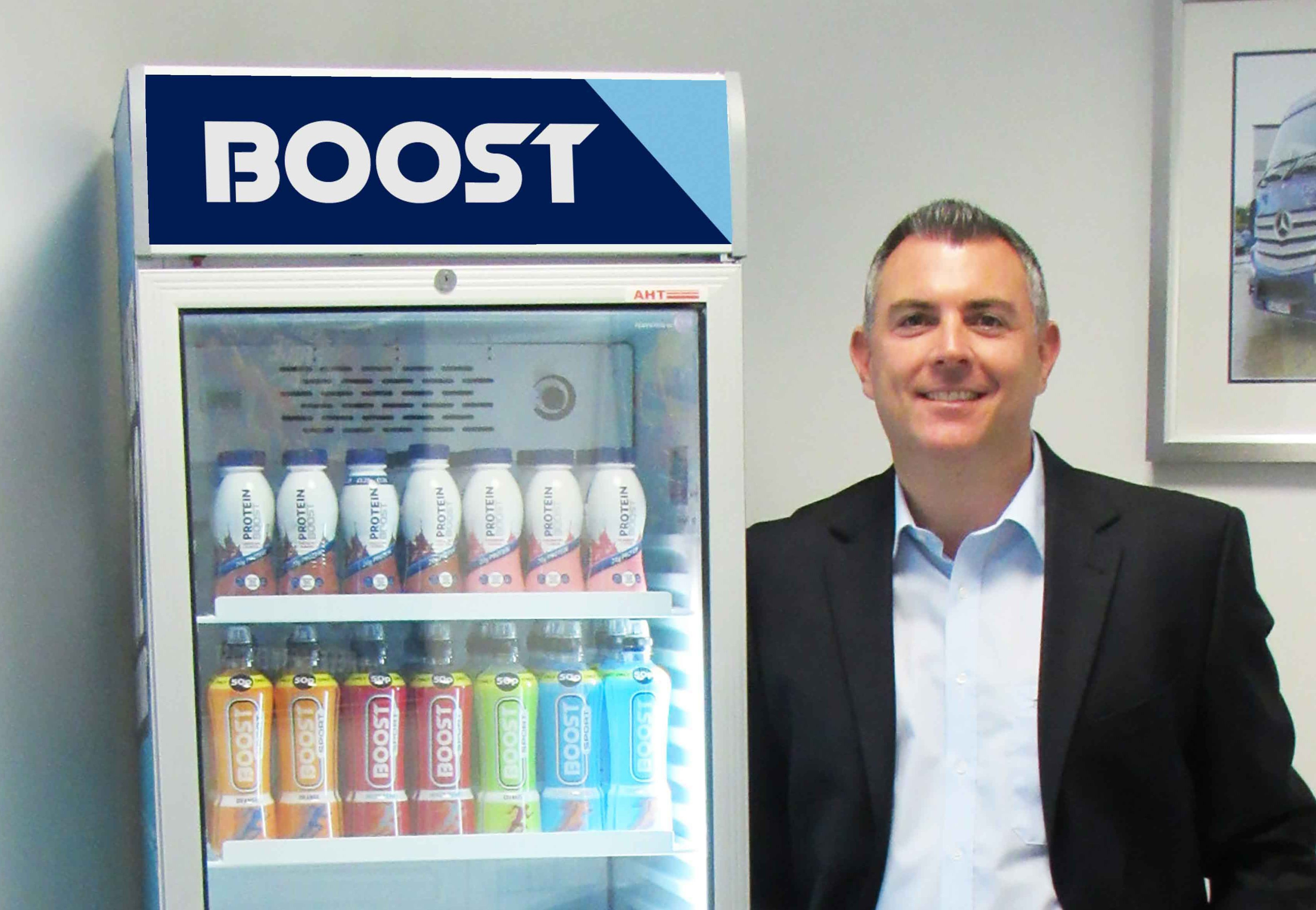 Boost urges NI retailers to chill out