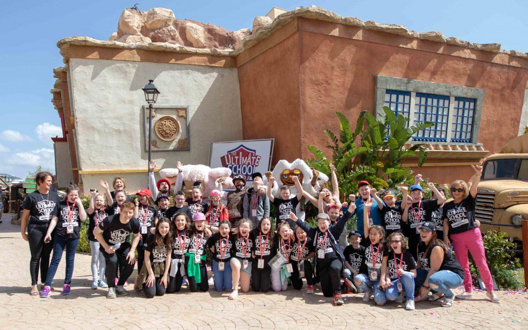 County Tyrone schoolchildren have a Corker in Majorca