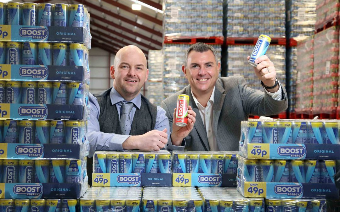 Boost is top of the 'pops' in Northern Ireland