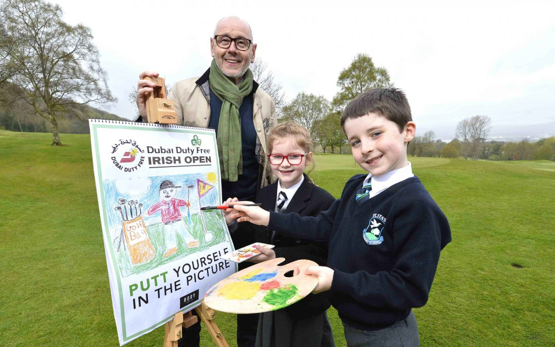 PUTT yourself in the picture with nationwide Dubai Duty Free Irish Open kids competition