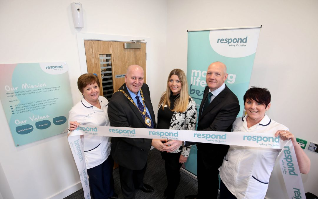 RESPOND HEALTHCARE MOVES TO LARGER FACILITIES IN LARNE