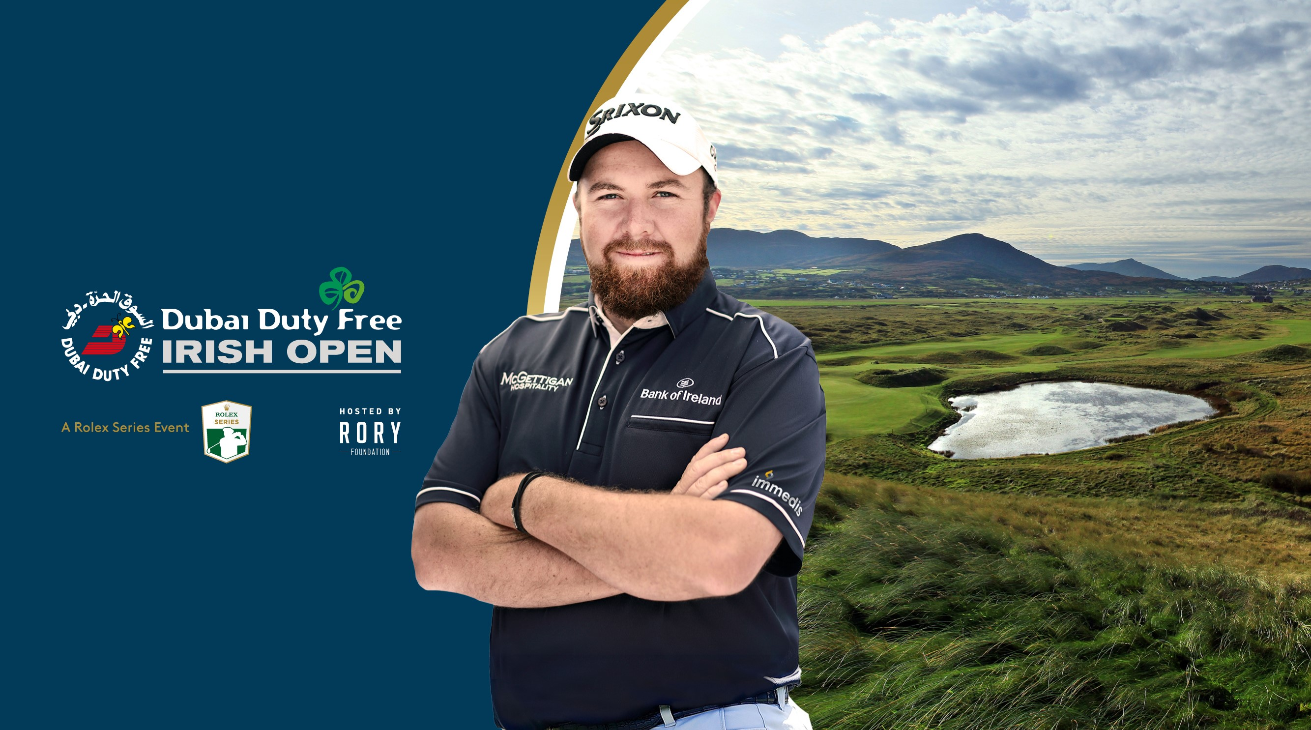 DDFIO 2018 - Shane Lowry graphic