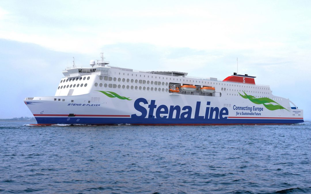 First of Stena Line's 3 new Irish Sea ships to operate on Dublin – Holyhead route