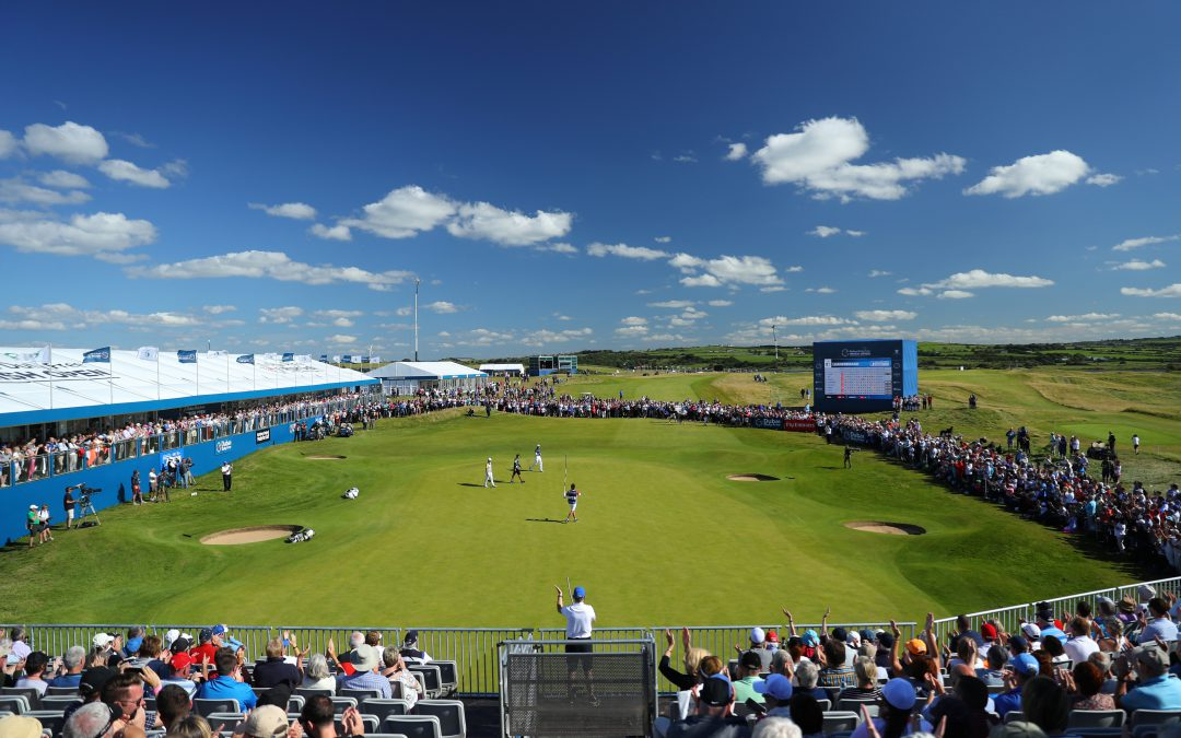 Sunday grandstand tickets sell out for 2018 Dubai Duty Free Irish Open