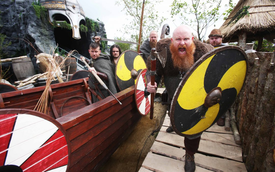 The Viking Voyage at Tayto Park celebrates its first birthday with a host of Viking activities this 16th and 17th of June!