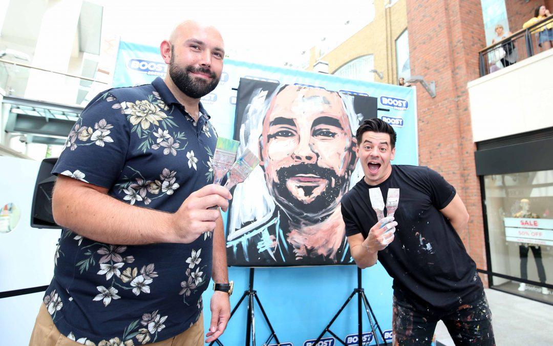 Britain's Got Talent artist visits Belfast