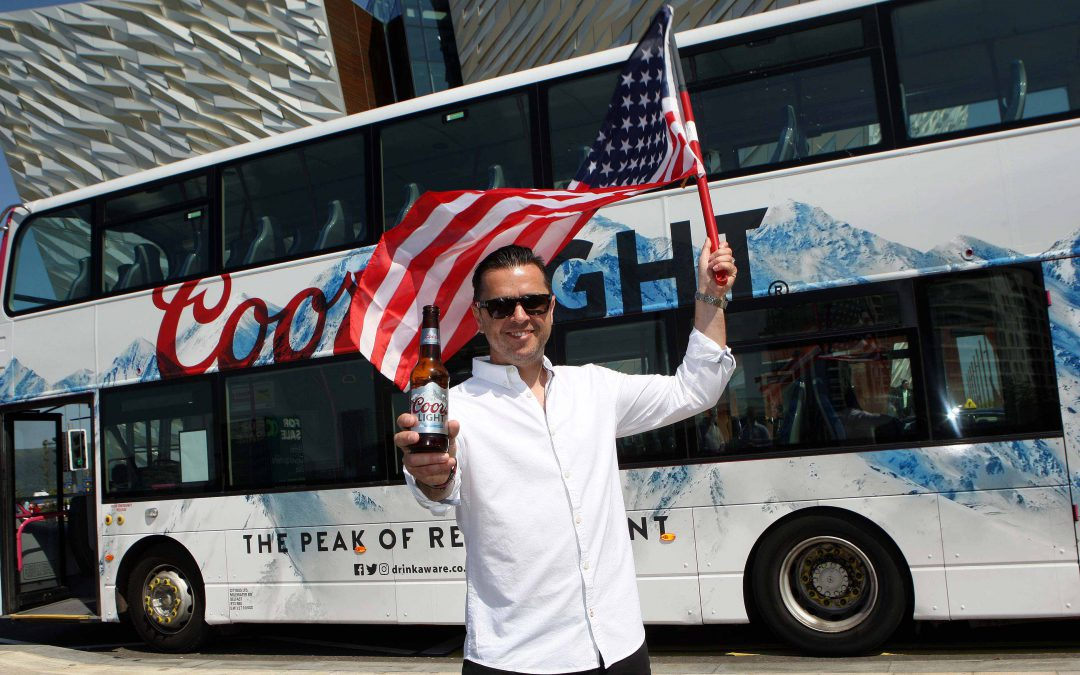 Coors Light celebrates record year in Northern Ireland