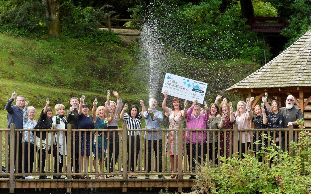 Community Workers Scoop £1M from Well-Travelled Lottery Ticket