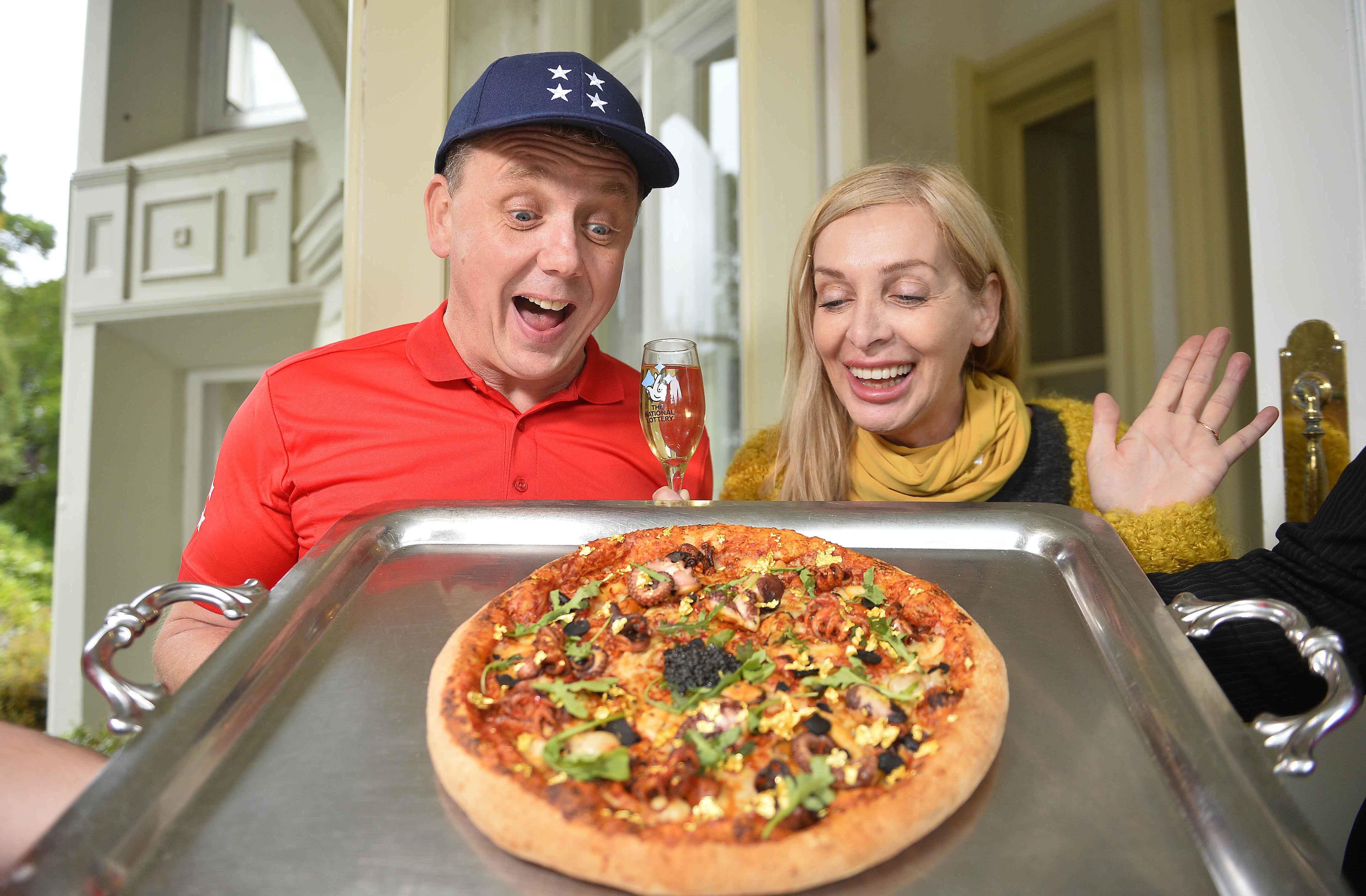 Multi-Millionaire Pizza #1