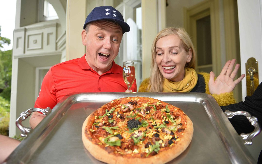 Fancy a slice of Northern Ireland's most expensive pizza?