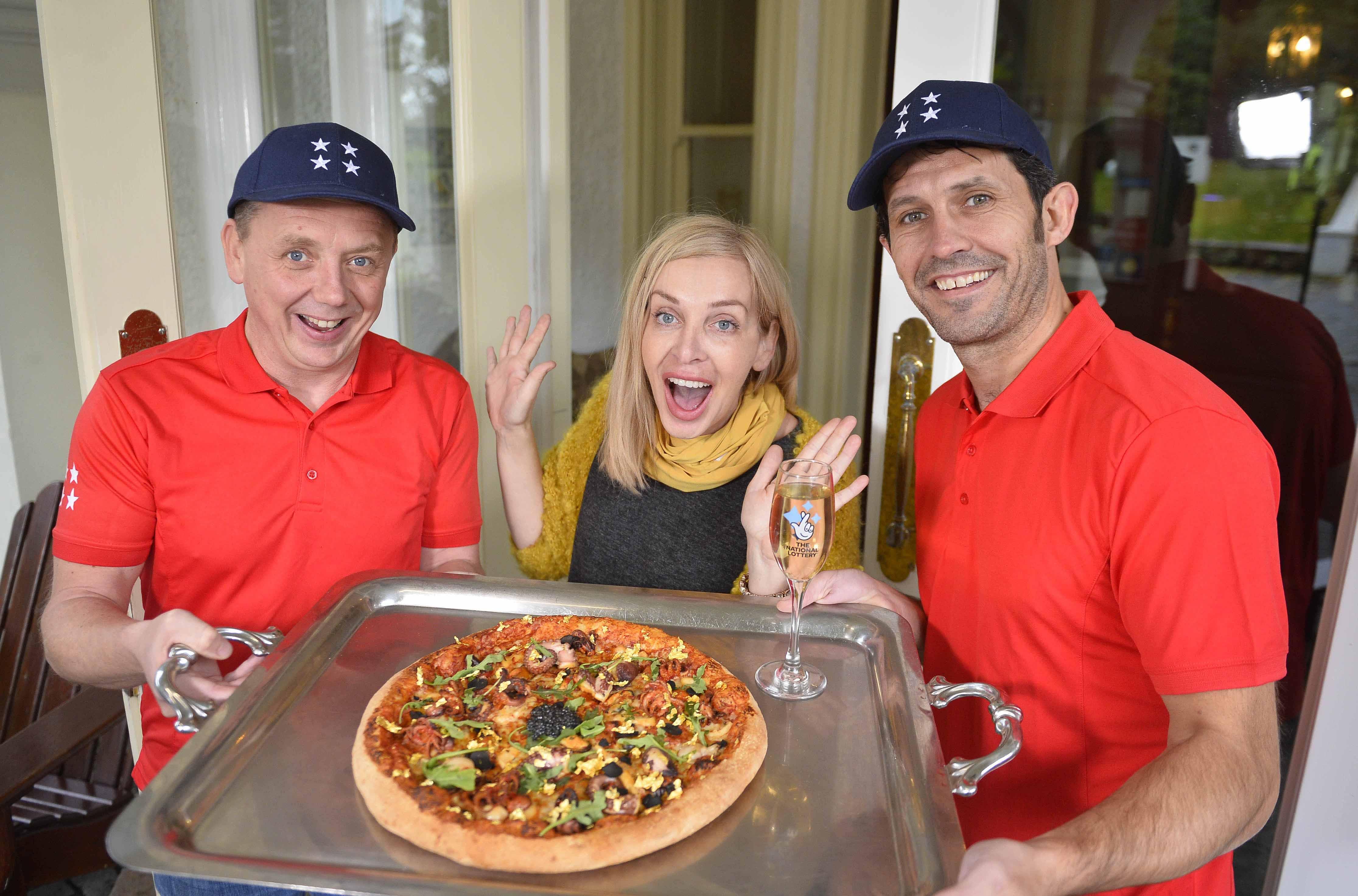 Multi-Millionaire Pizza #3