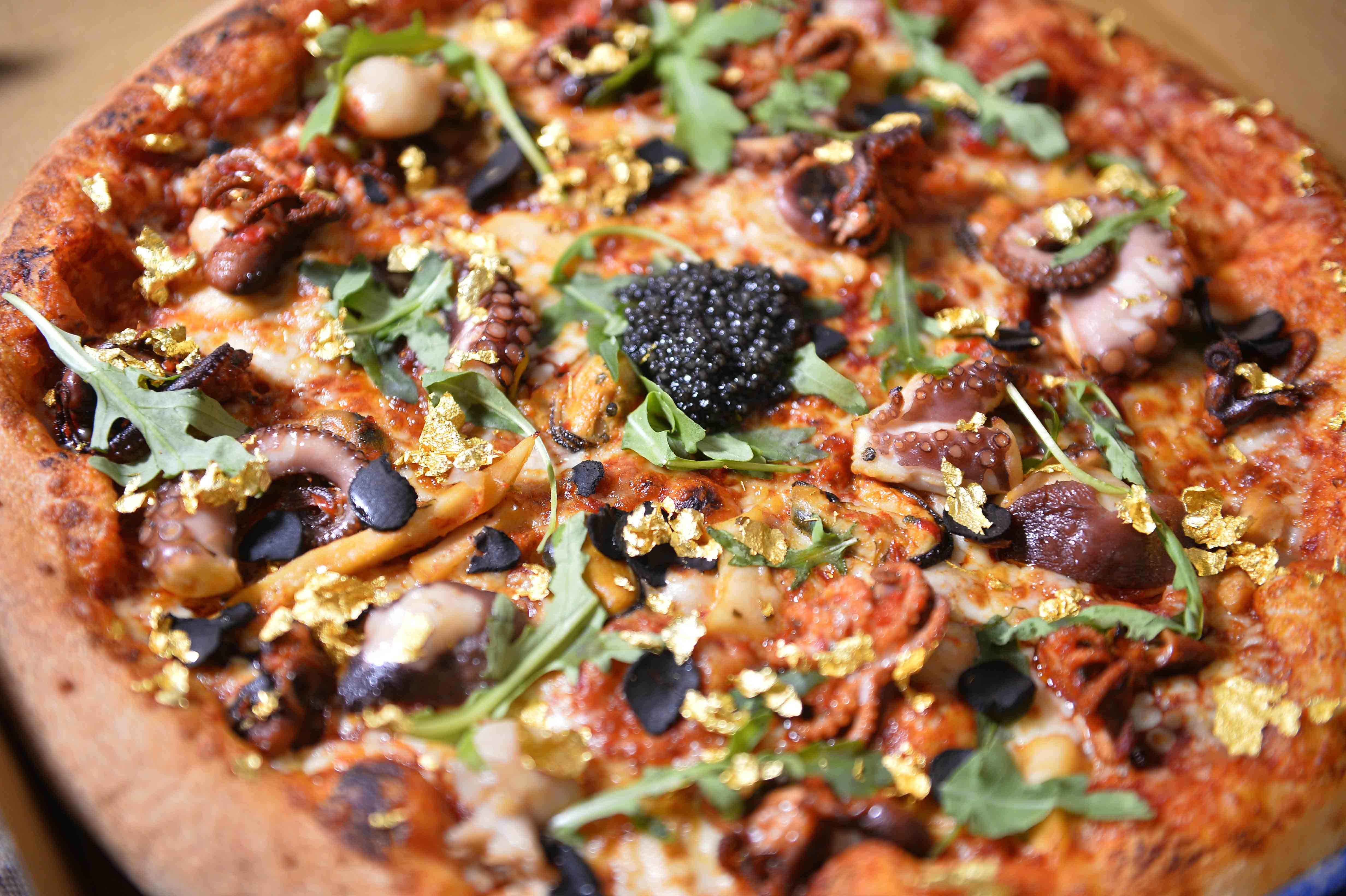 Multi-Millionaire Pizza #5