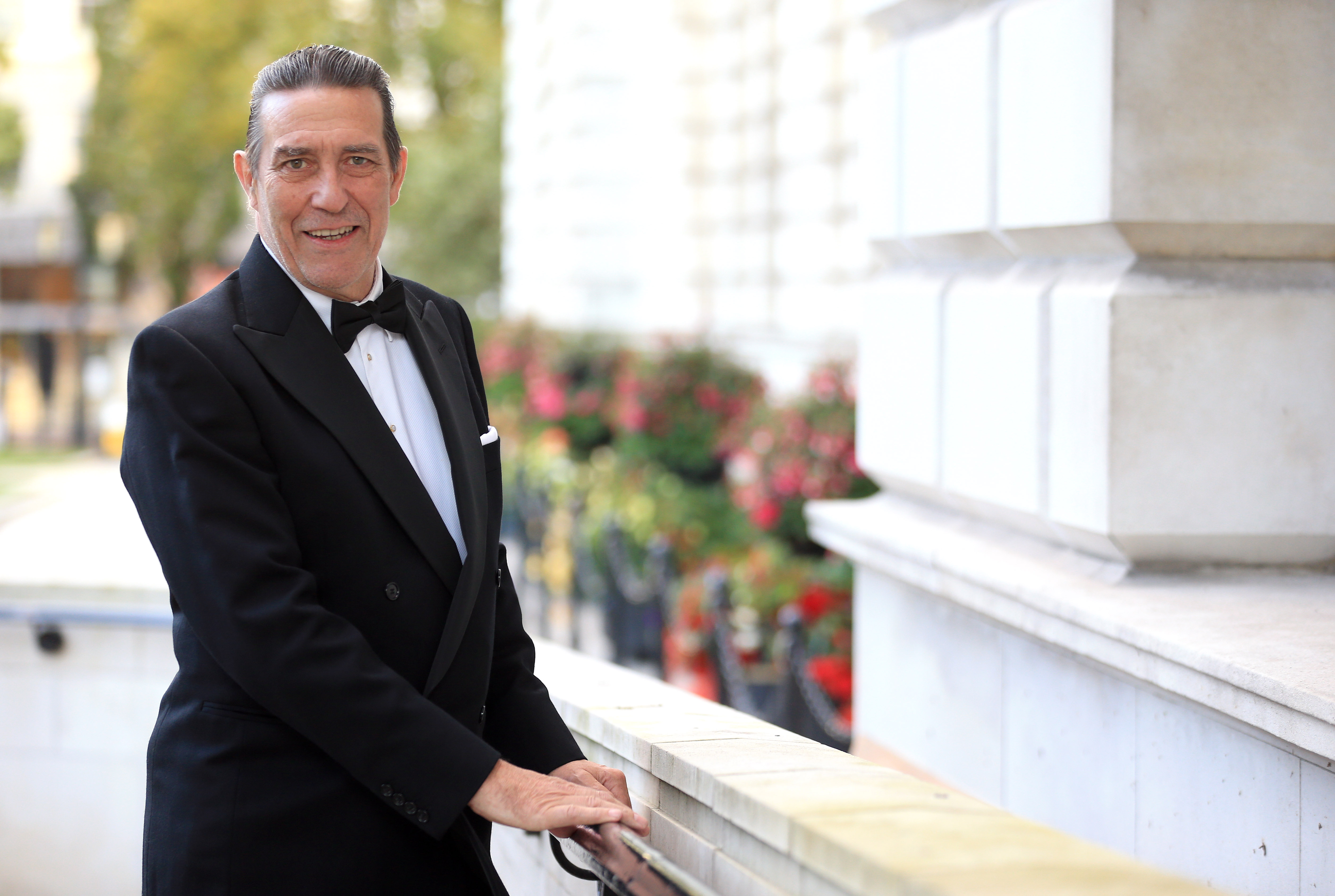 PACEMAKER, BELFAST, 6/9/2018: Ciaran Hinds, the winner of the Lifetime Achievement Award at the Ulster Tatler Awards at Belfast City Hall. The Belfast-born actor was honoured for his impressive Hollywood and Theatrical career which is recognised all across the world. Northern IrelandÕs longest-running glossy magazine, Ulster Tatler, is celebrating over 50 years on the shelves of NI, and its eleventh annual awards recognise the people and businesses of Northern Ireland that have lit up its pages since 1966. PICTURE BY STEPHEN DAVISON