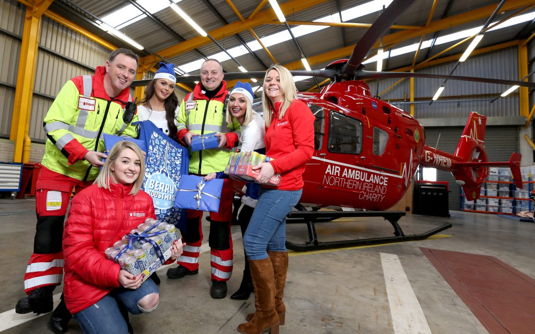 Energy drink gives NI's unsung heroes a BOOST this Christmas