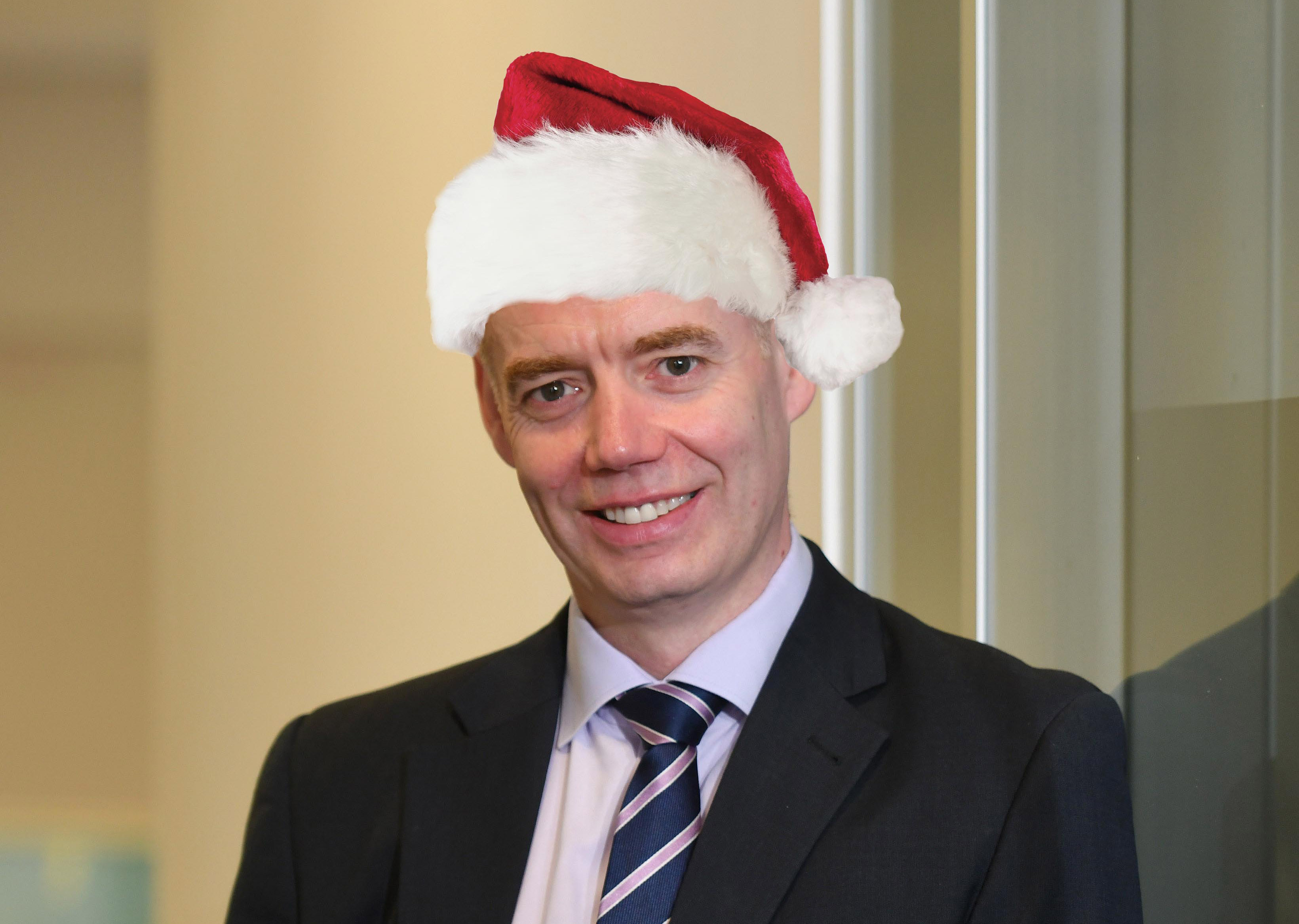 Conor Walls - Managing Director, Exchange Accountants #Christmas 2