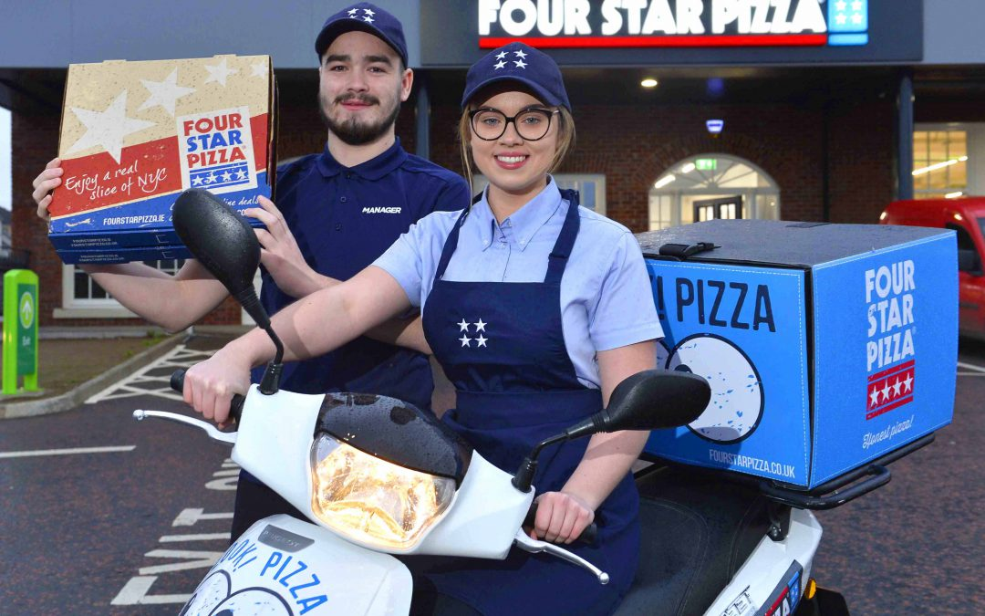 30 new jobs as Four Star Pizza comes to Lisburn!