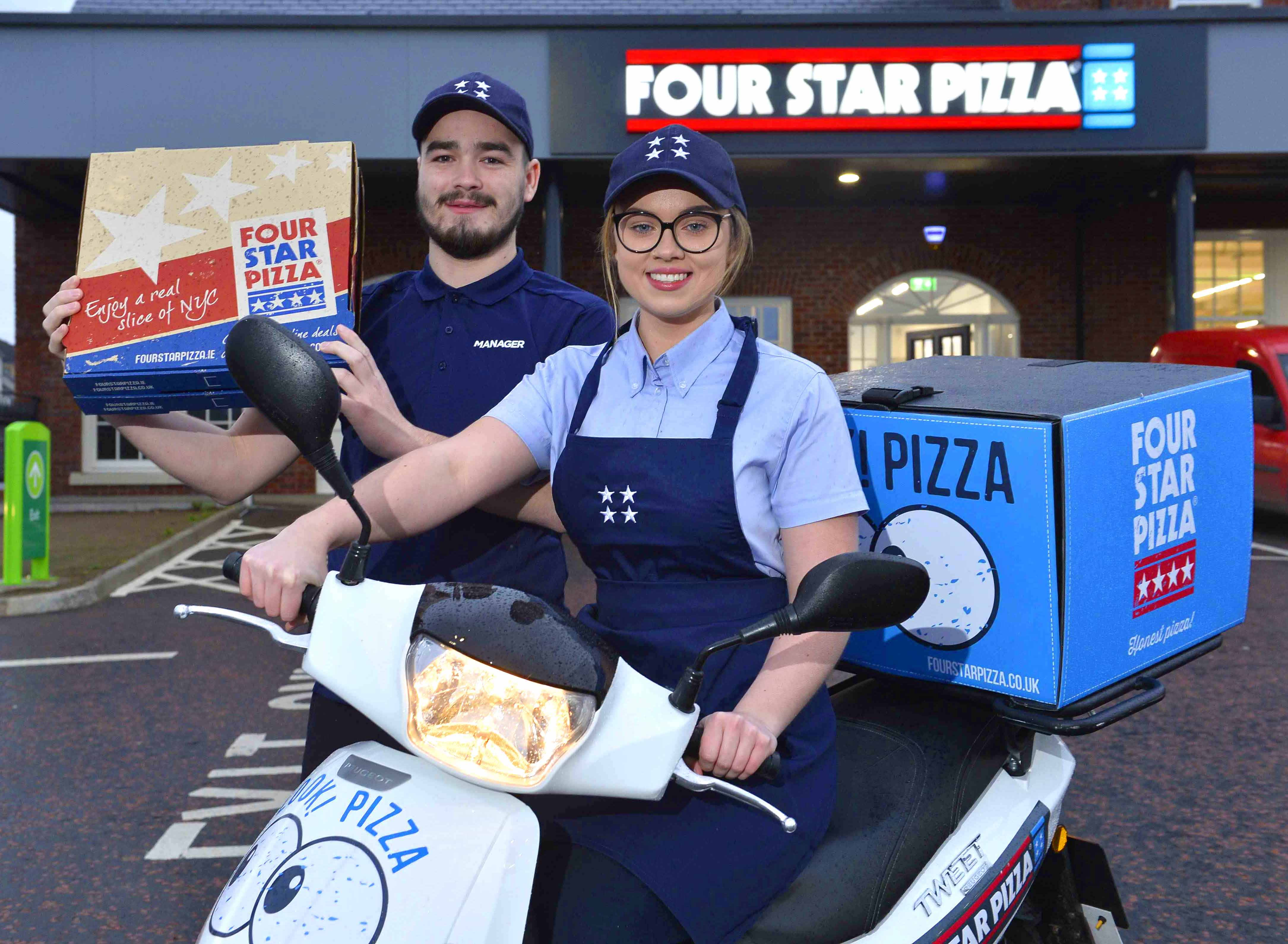 30 New Jobs As Four Star Pizza Comes To Lisburn Duffy