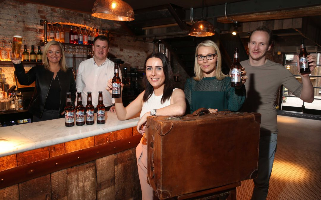 Coors Light Makes Dream Holiday a Reality for Lucky NI Bar Staff!