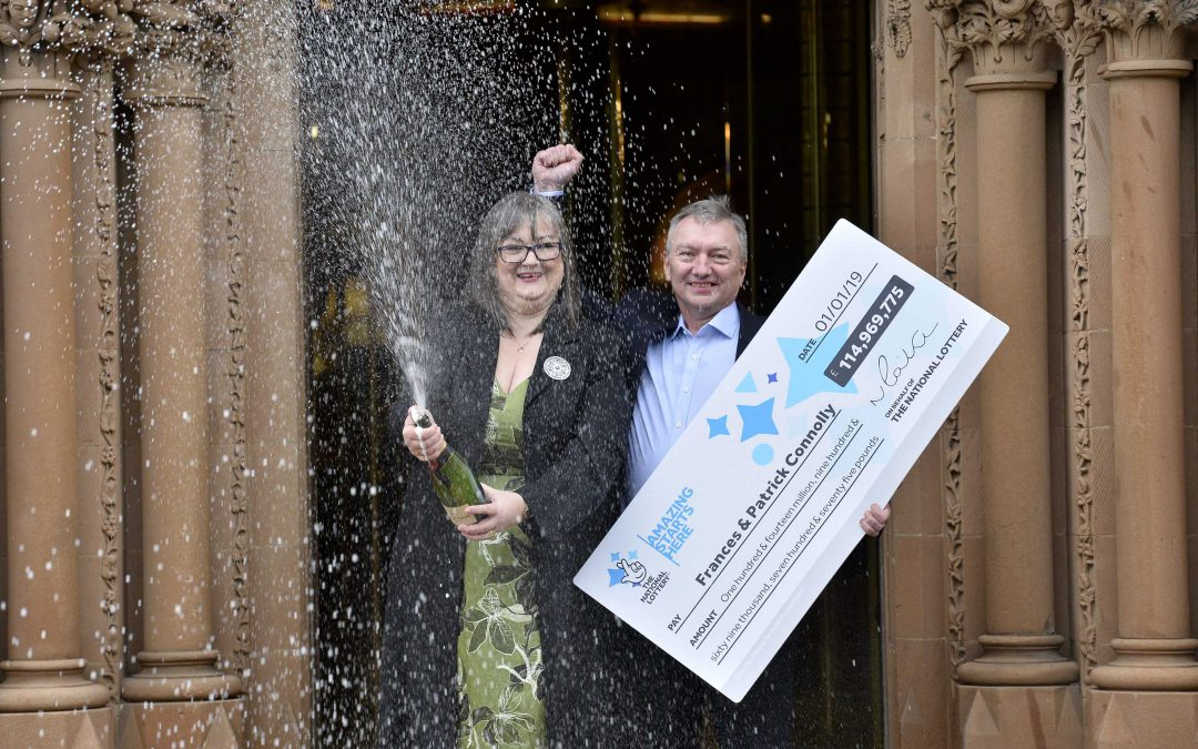 County Armagh couple scoop fourth biggest ever National Lottery jackpot