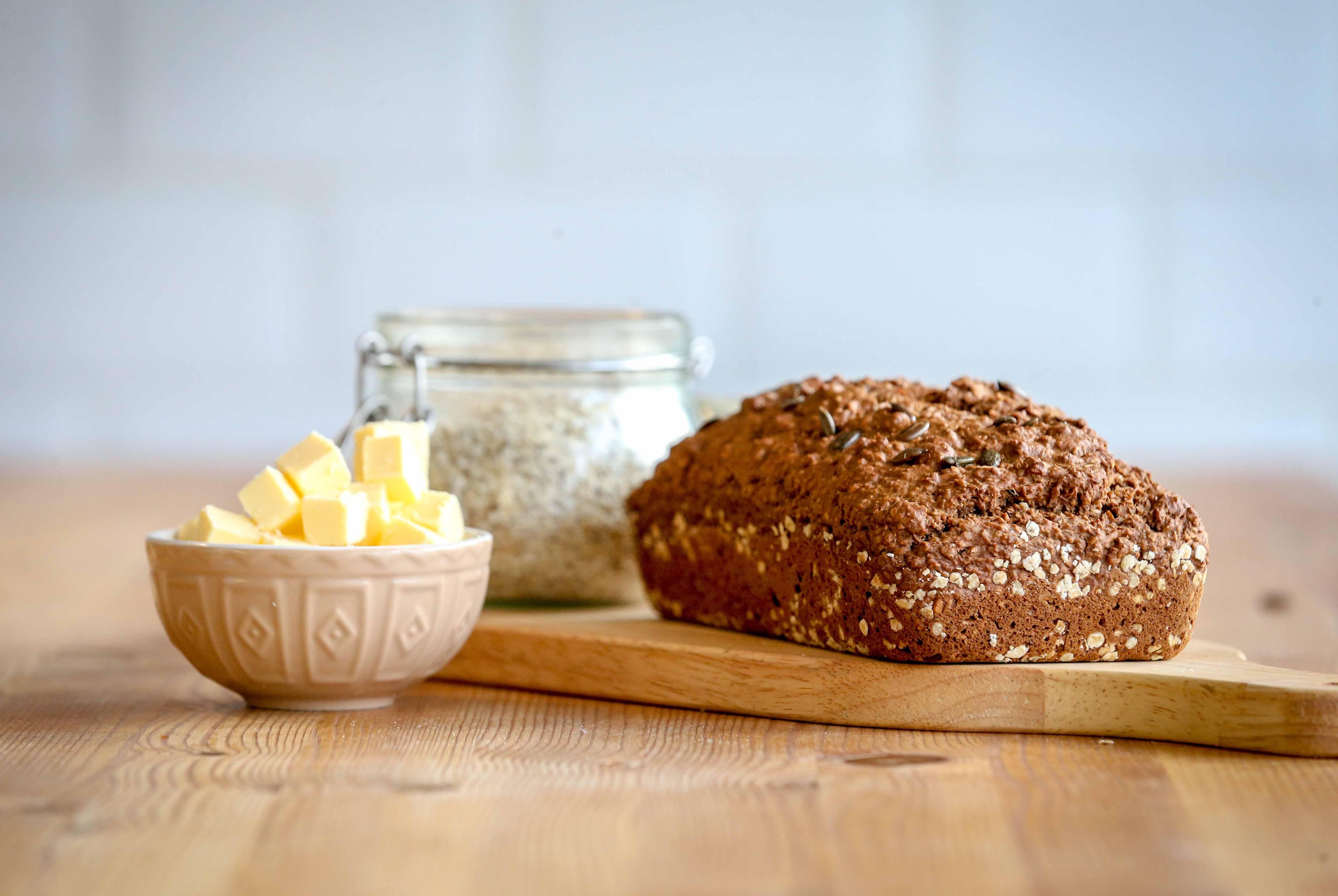 Fibre February - traditional wheaten bread #1