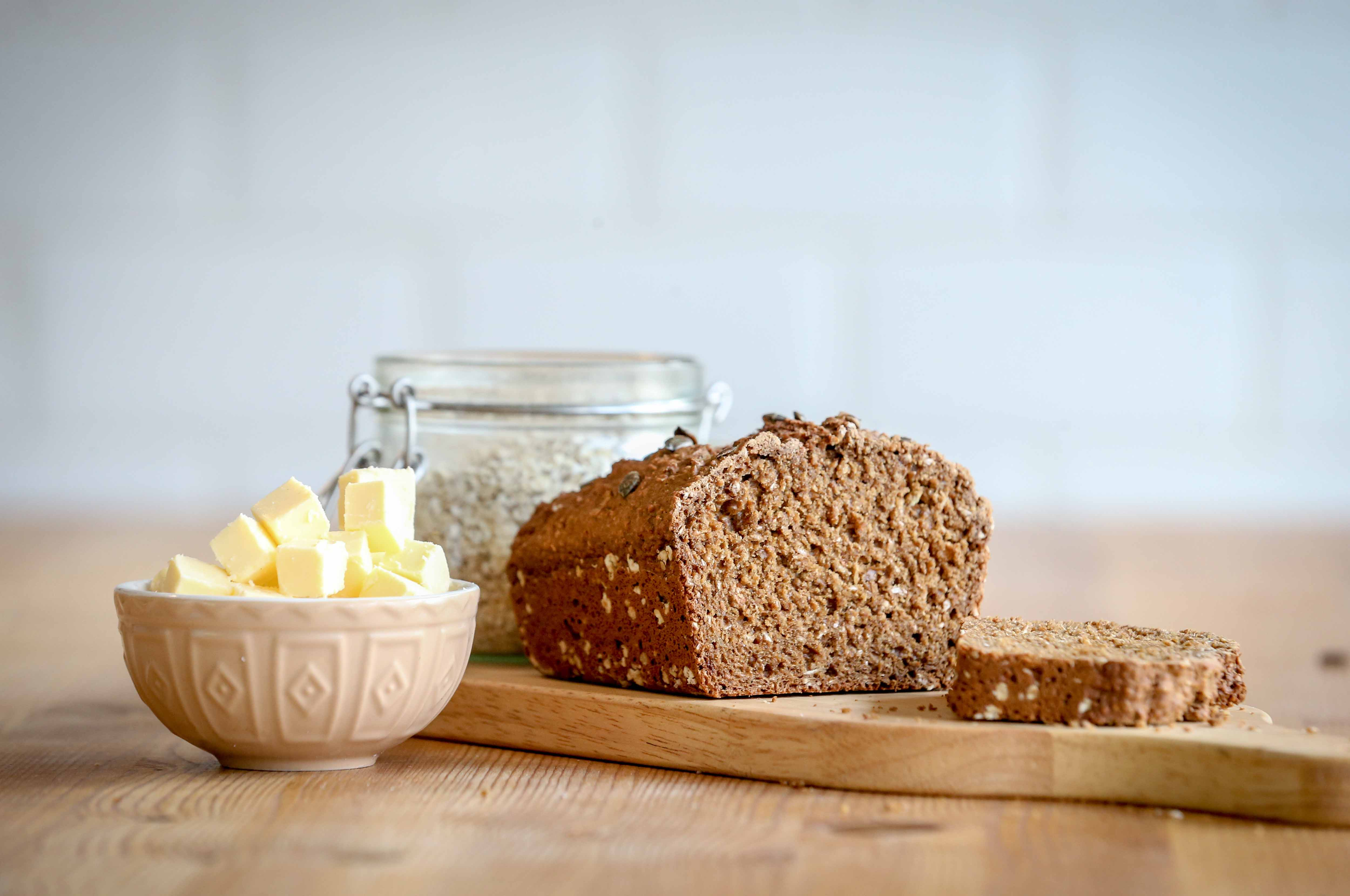 Fibre February - traditional wheaten bread #2
