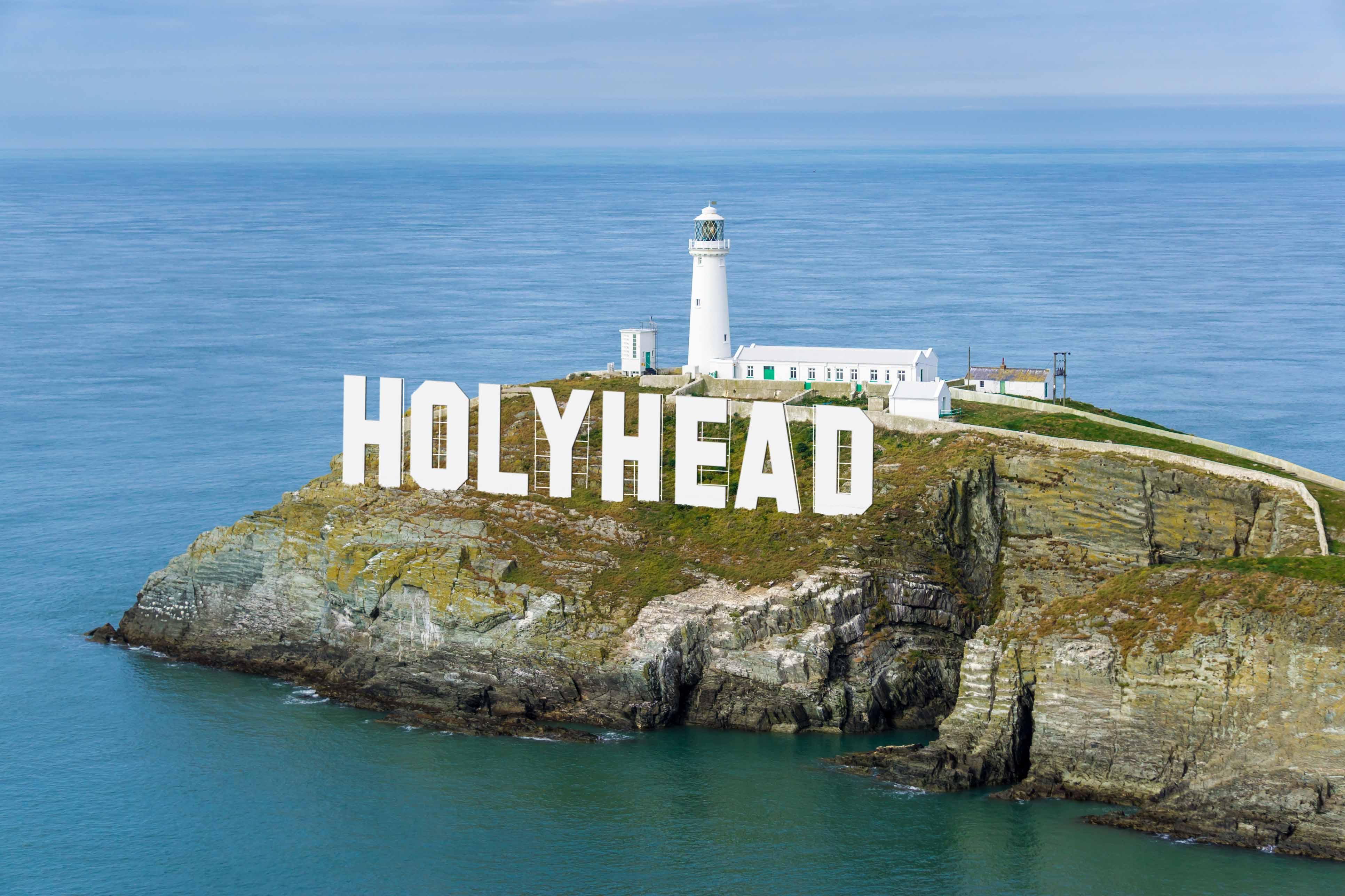 Holyhead Sign