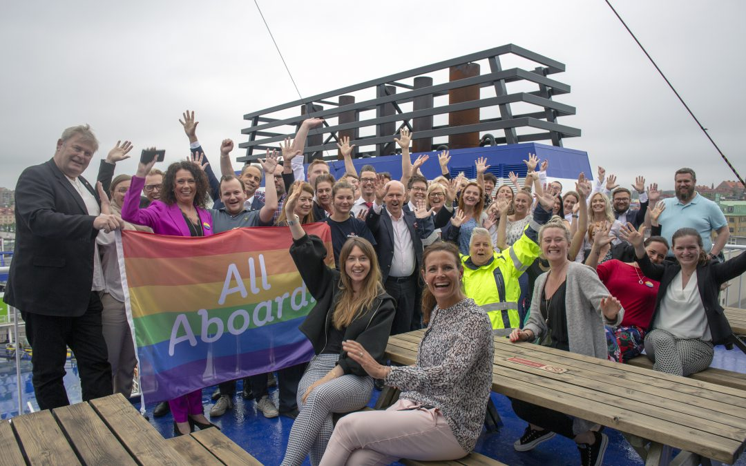 Stena Line to fly the rainbow flag all over Europe