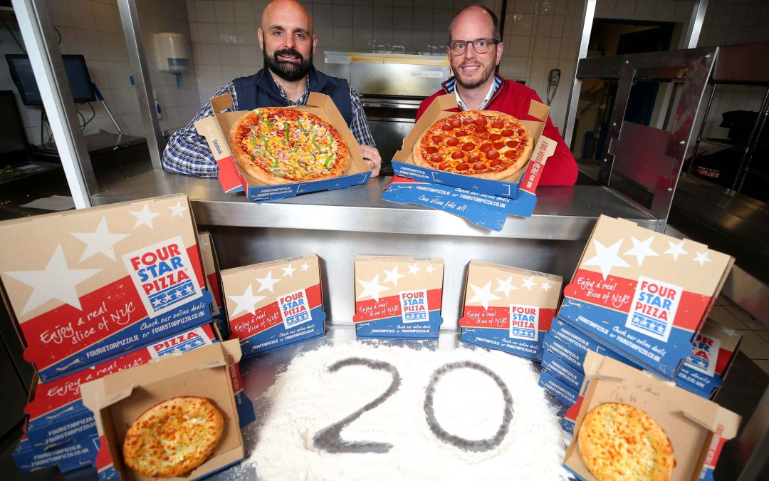 Four Star Pizza celebrates 20 years in Northern Ireland!
