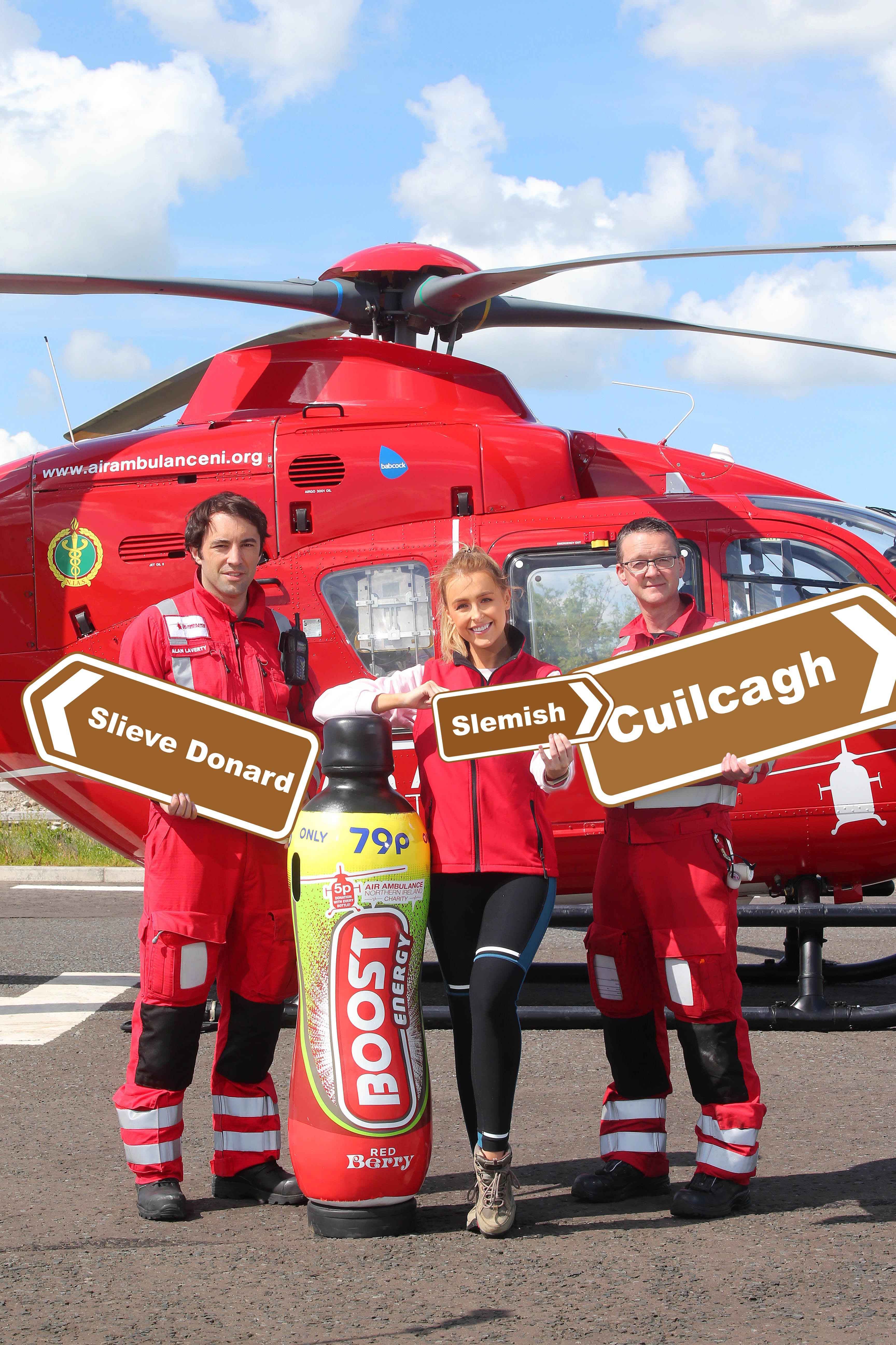 Three Peak Challenge set to Boost funds for Air Ambulance NI:
