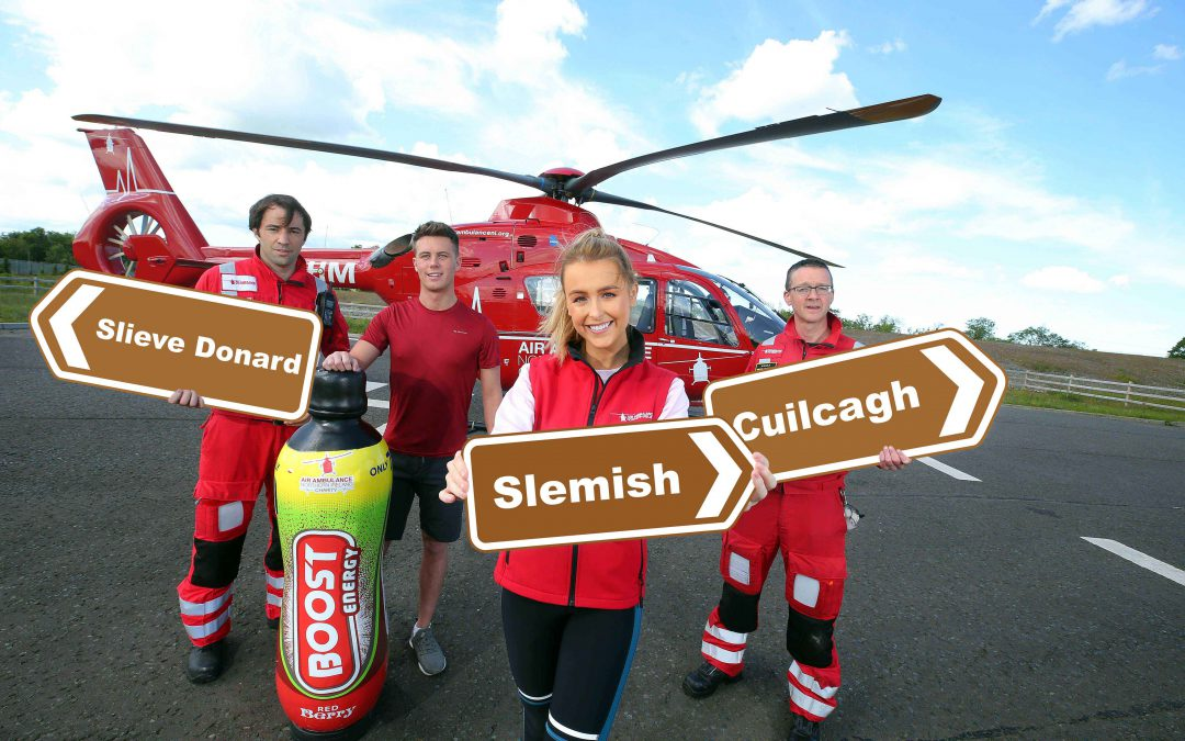 Three Peak Challenge set to Boost funds for Air Ambulance NI