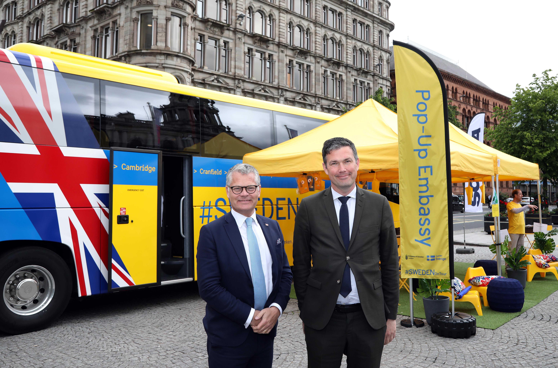 Stena Line Welcomes Swedish Ambassador to Belfast