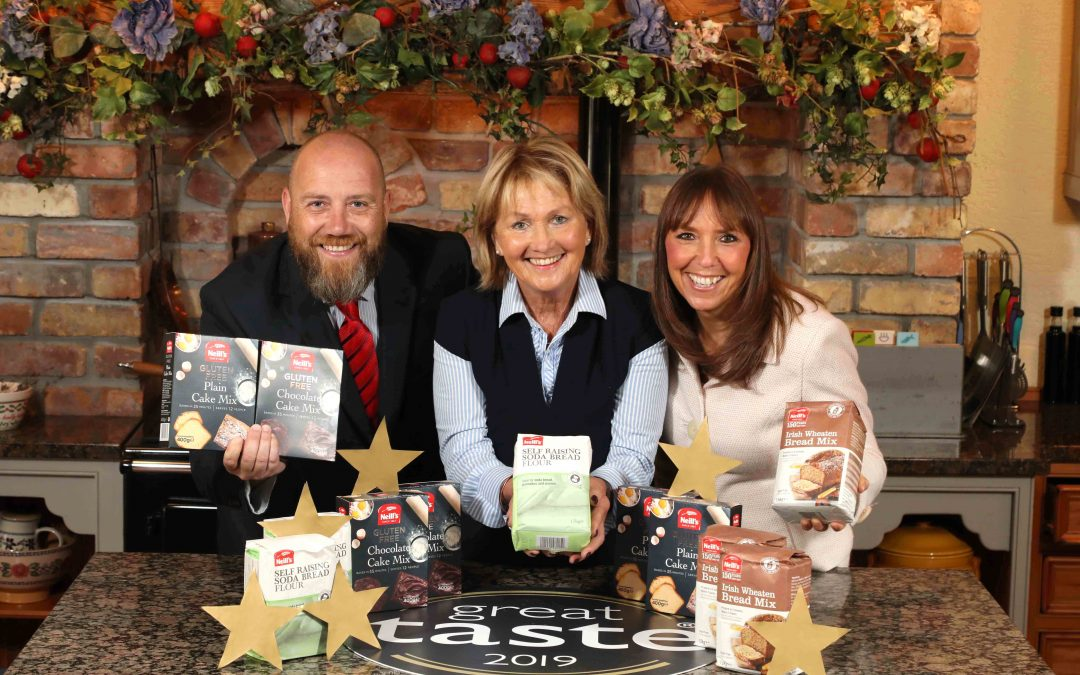 Stars come out for Northern Ireland's leading flour mill