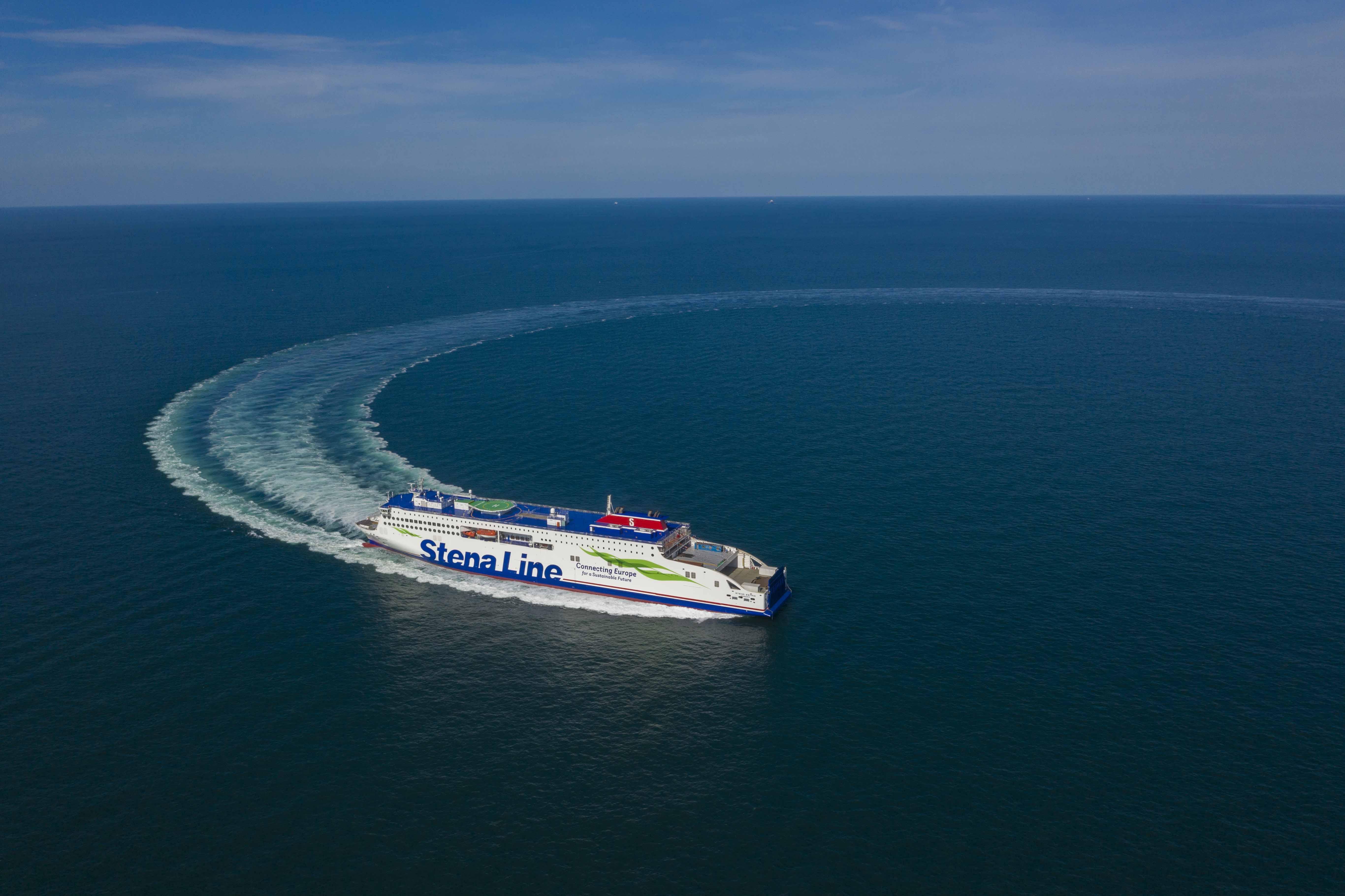 Stena Estrid sea trial #2