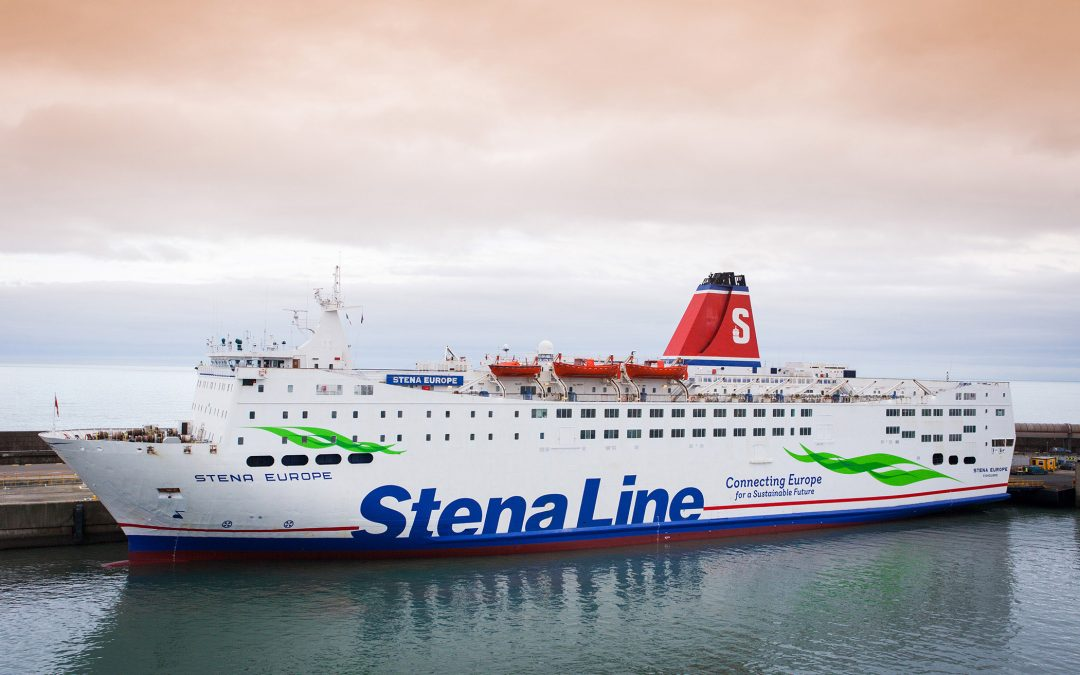 Stena Europe returns to scheduled services on Rosslare – Fishguard
