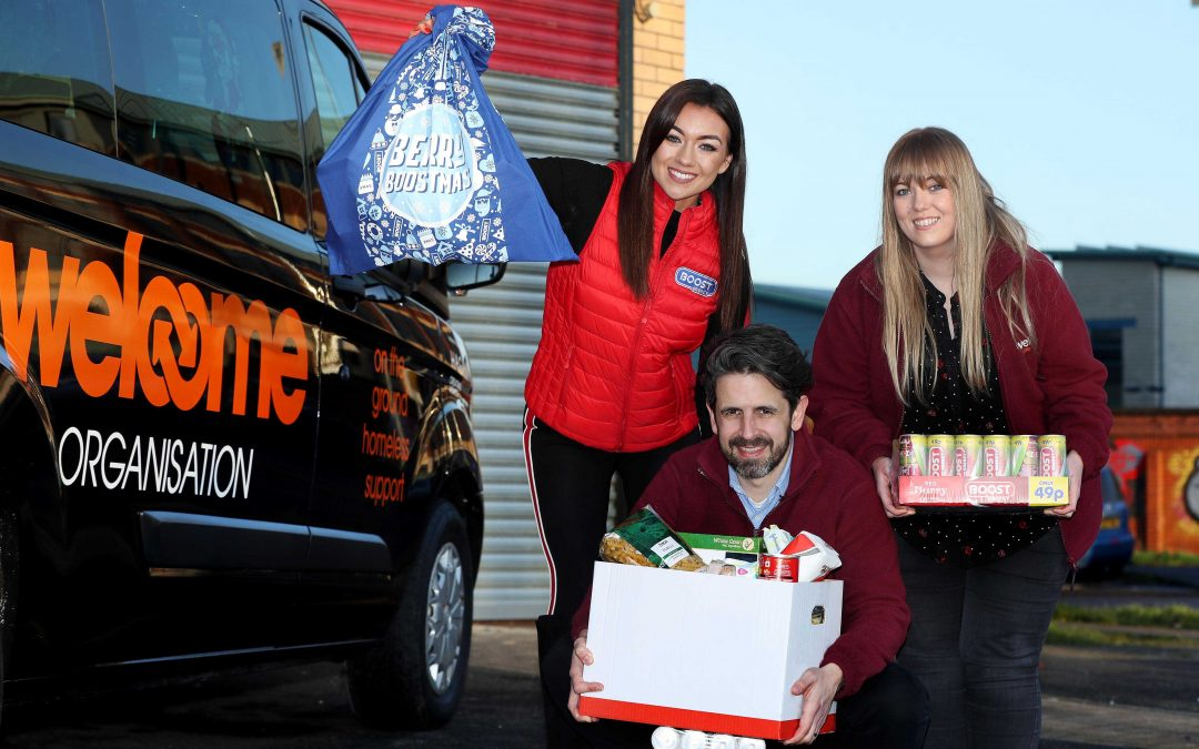 People in need receive a welcome Boost this Christmas