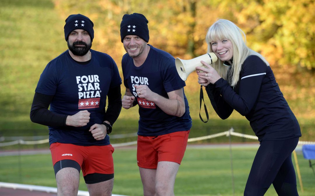 Four Star Pizza hits the ground running as official food sponsor of Belfast City Marathon