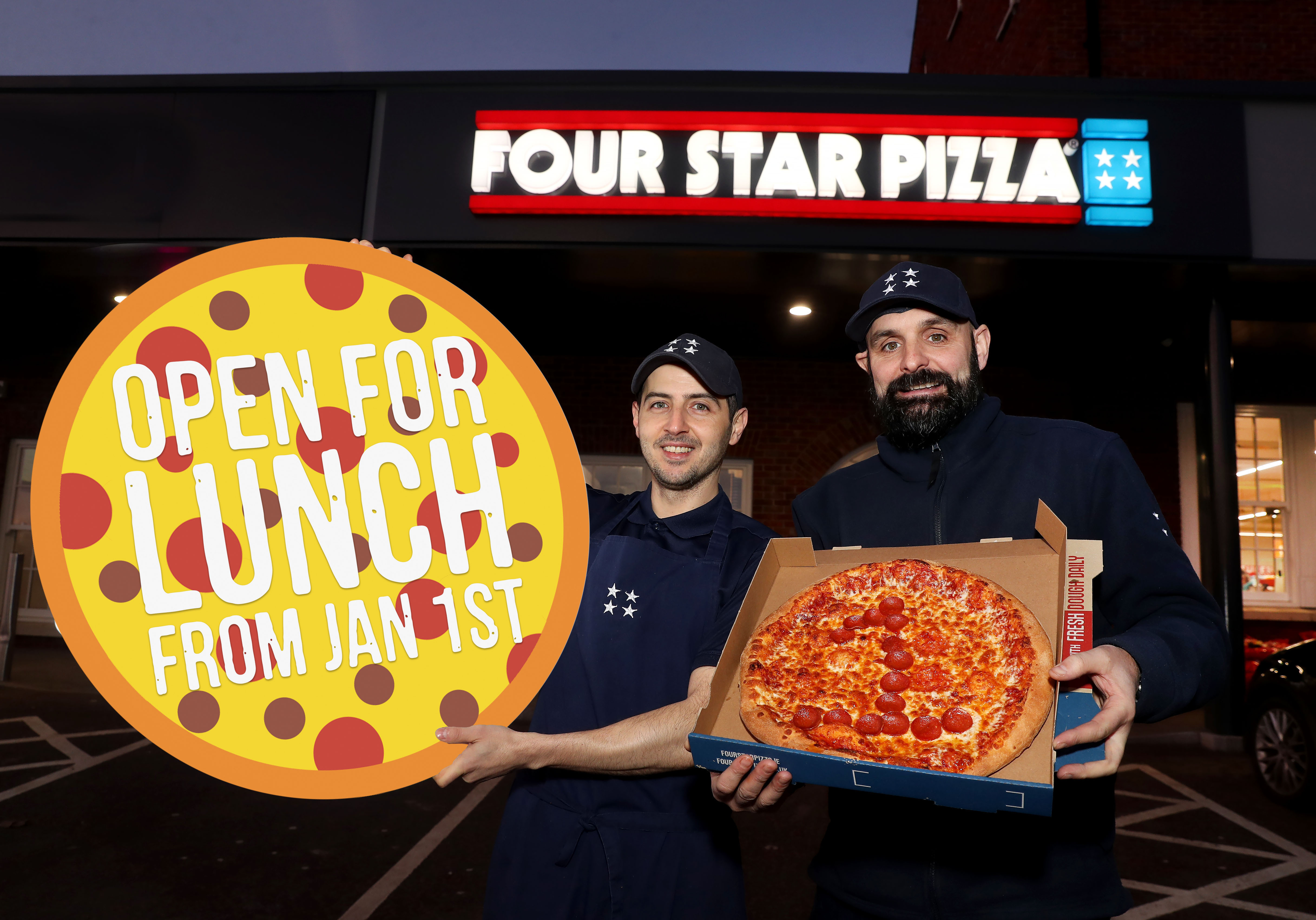 Four Star Pizza Lisburn Offers Even Bigger Slice Of The