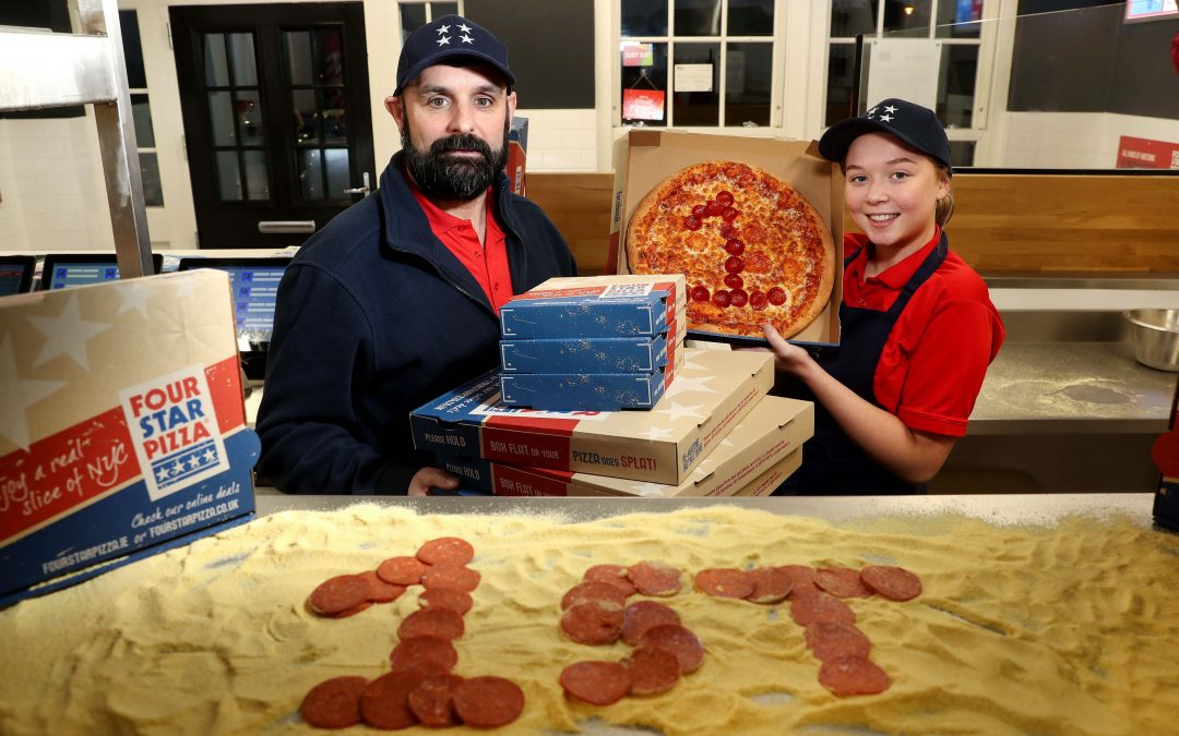 Four Star Pizza Lisburn offers even bigger slice of the action