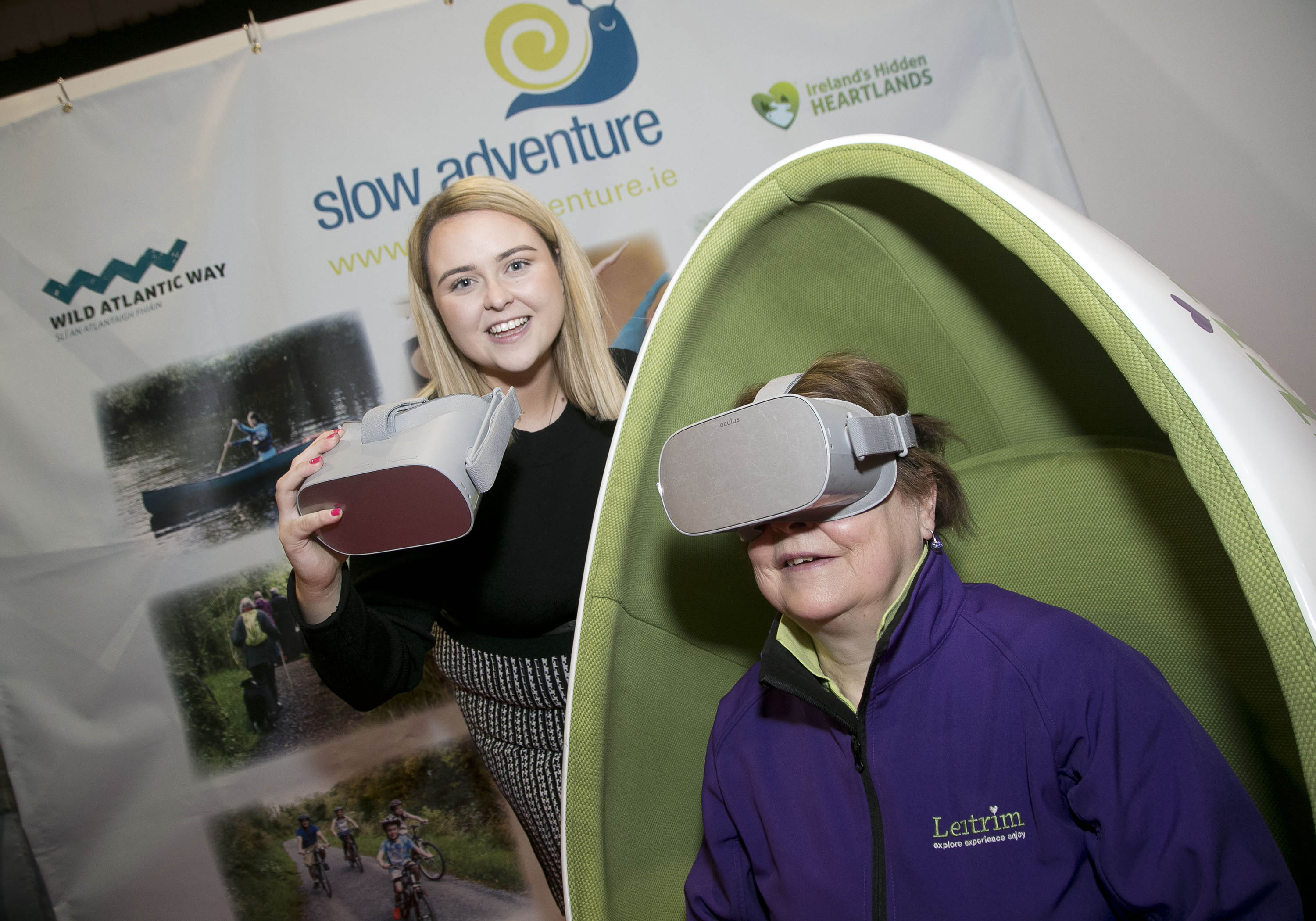 Holiday World visitors transported to Co Leitrim with new Virtual Reality experience