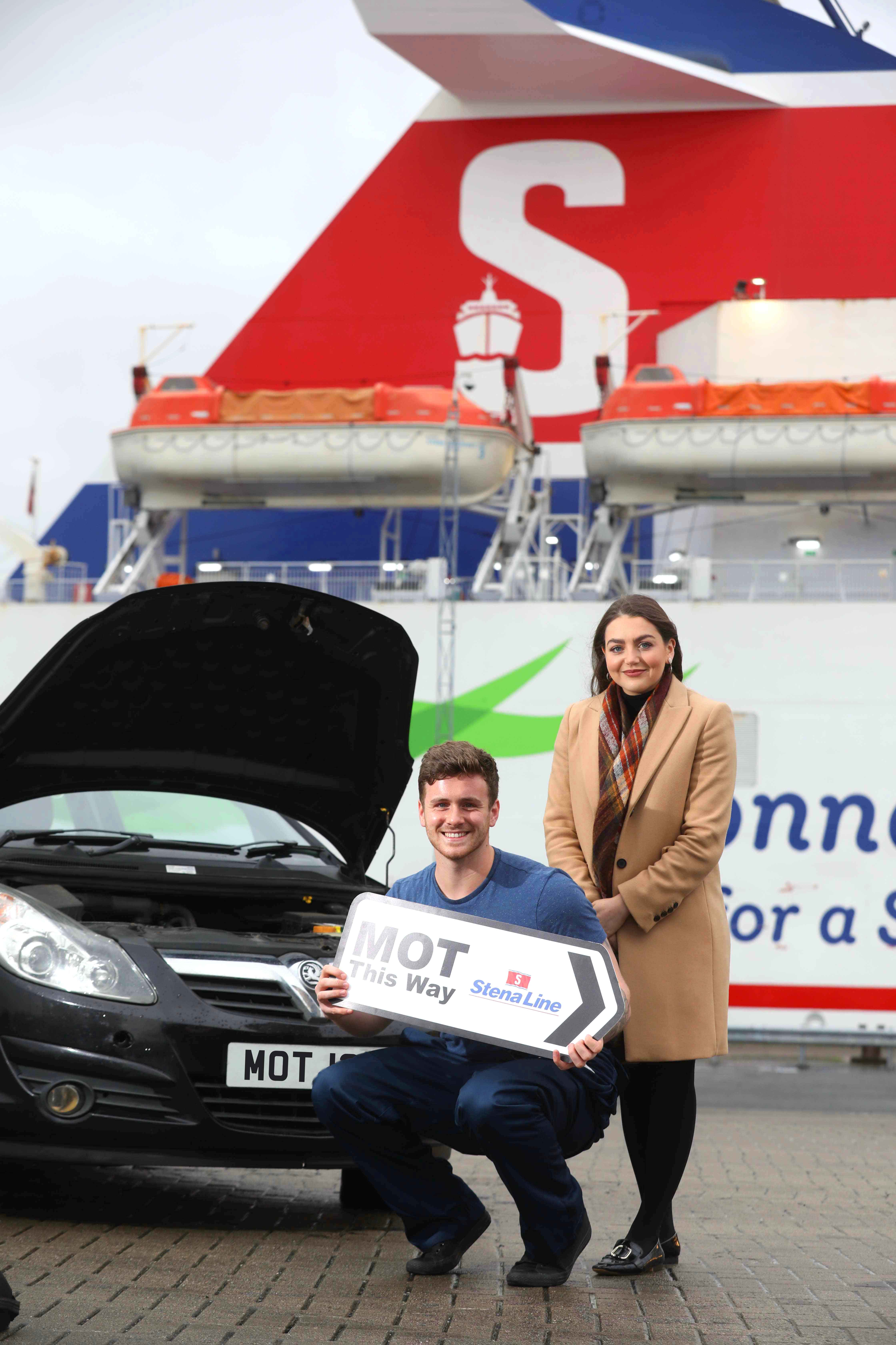 MOTORISTS TAKE TO THE SEA FOR THEIR M.O.T.