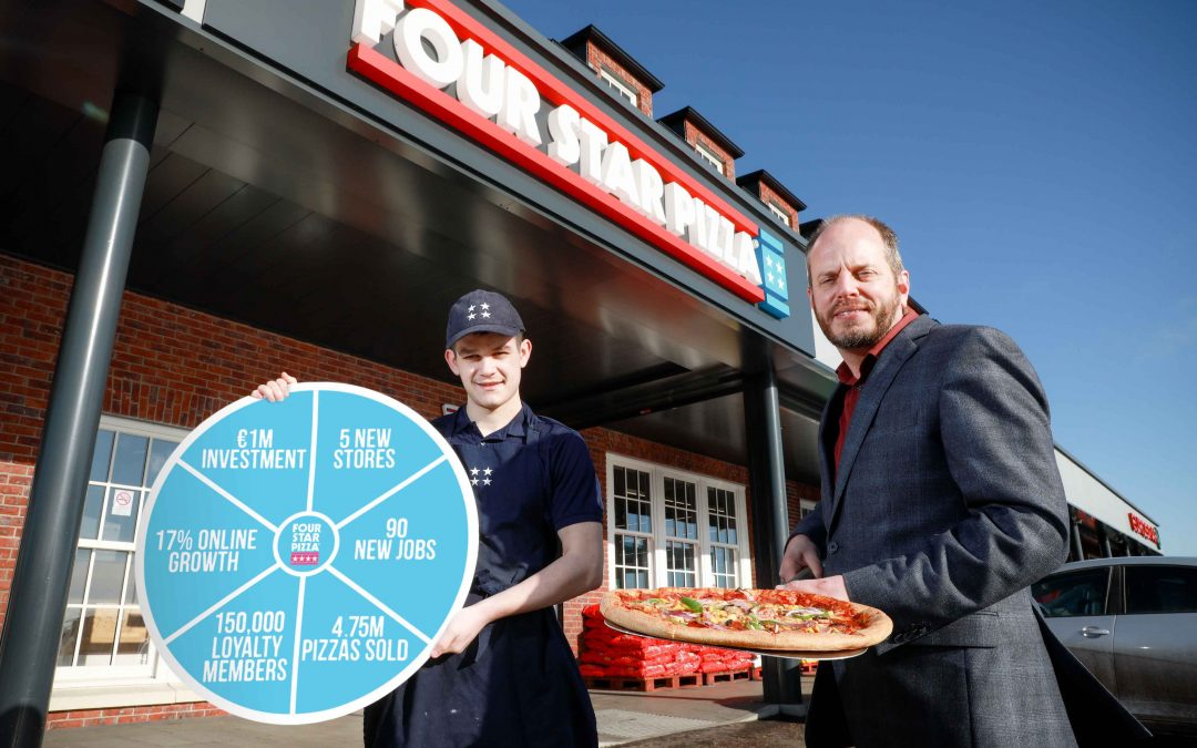 Four Star Pizza serves up record results in Ireland