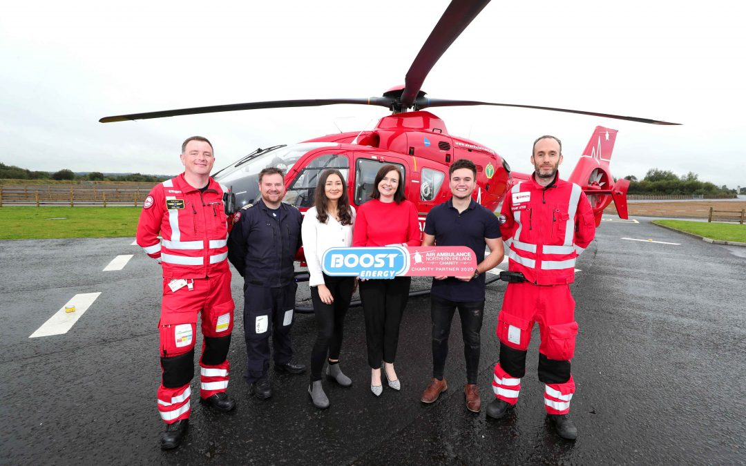 Air Ambulance NI to receive support from Boost Drinks for second consecutive year