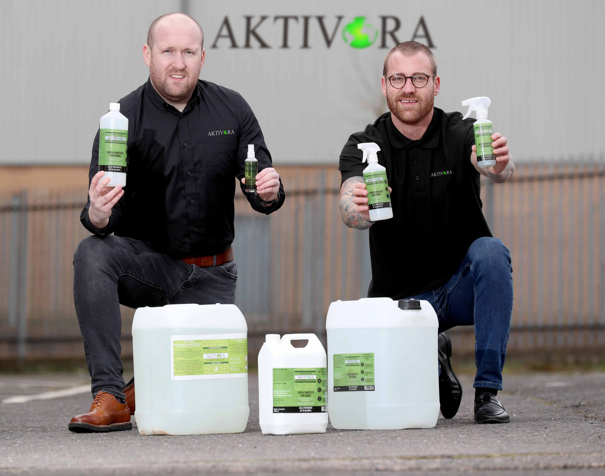 Aktivora in demand after becoming first sanitiser certified to kill COVID-19