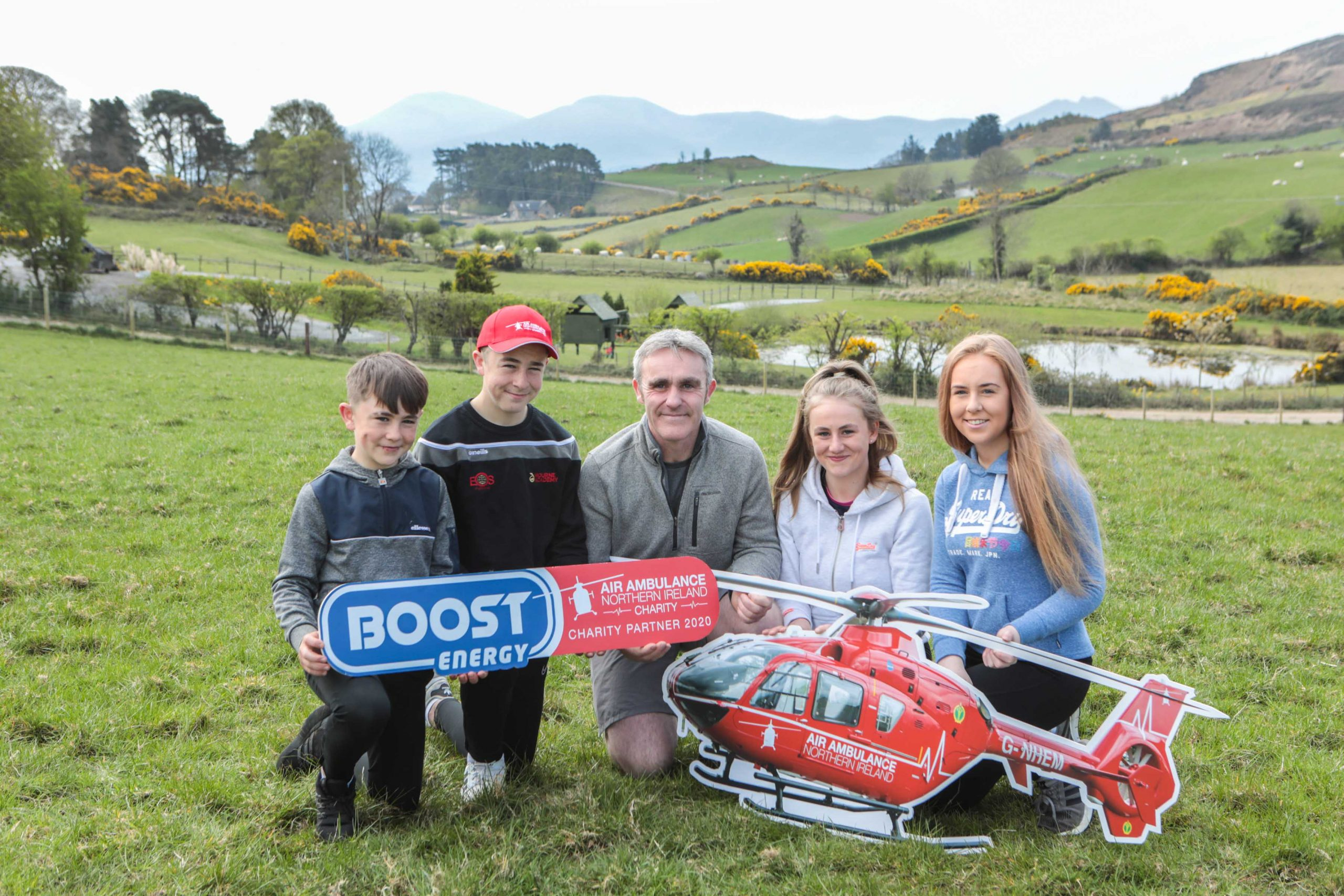 Take on the Three Peaks Challenge physically or virtually … and Boost funds for Air Ambulance NI
