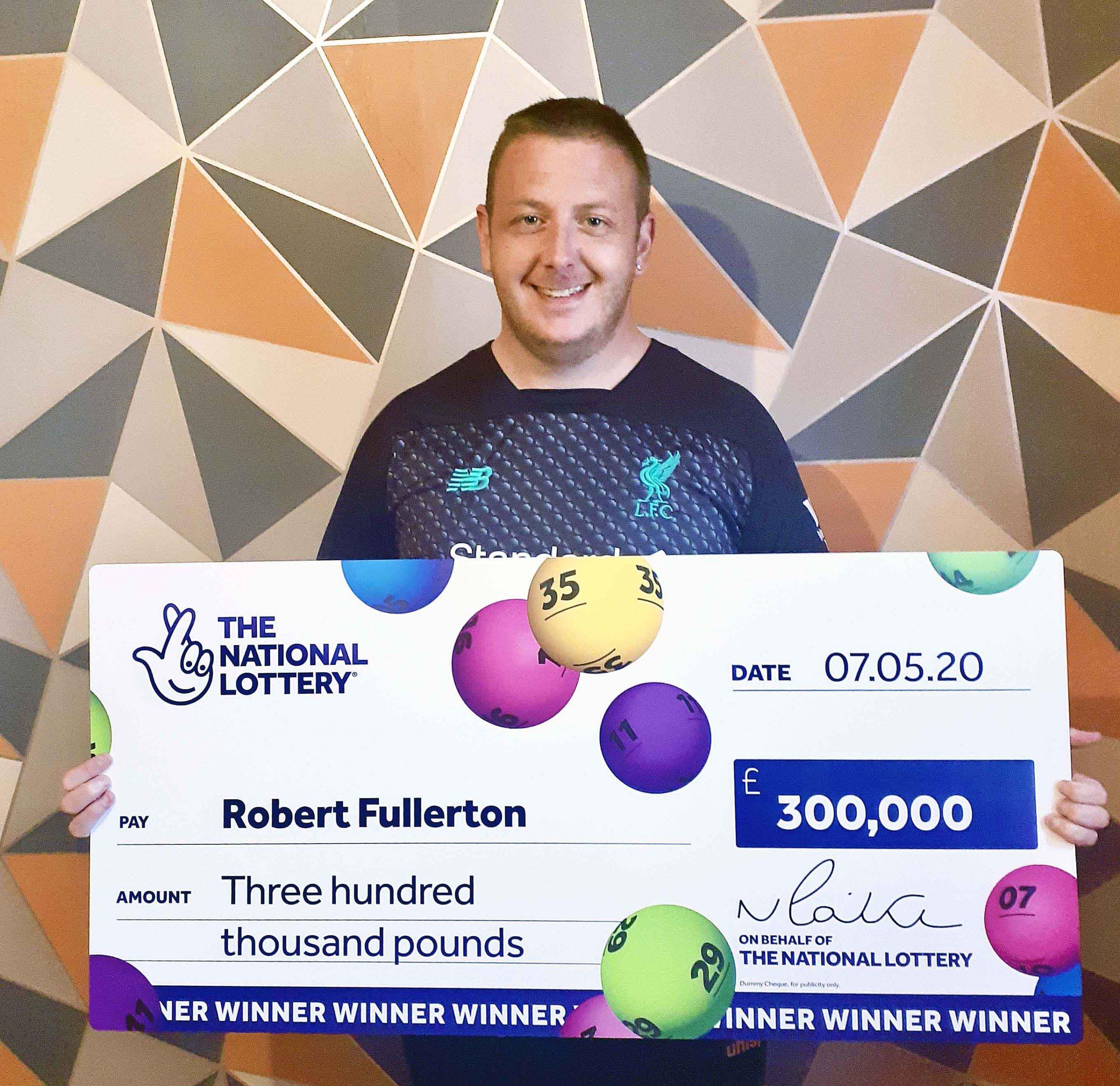 Robert Fullerton - lottery winner #1
